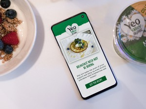 Celebrating nature with Yeo Valley 'always on' connected packaging